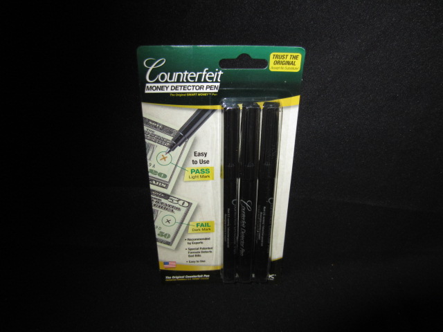 MONEY DETECTOR PENS 3PC
