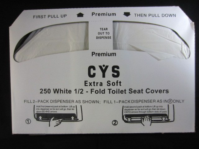 TOILET SEAT COVER 250PC